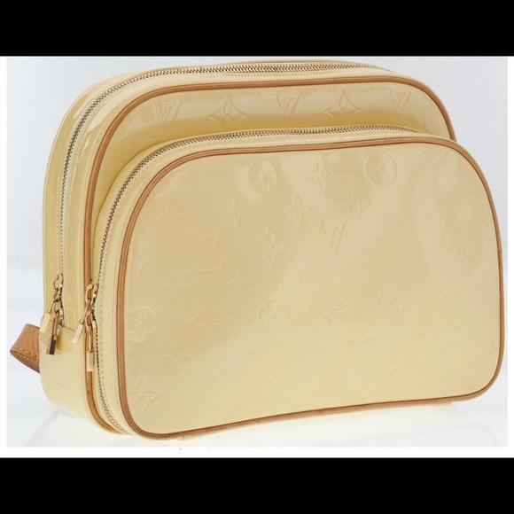 6dca82063448 Louis Vuitton Bags | Hplv Monogram Pale Yellow Vernis Murray ...